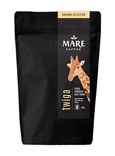 Mare Kaffee - twiga - 85% Arabica, 15% Robusta - Vollautomat, Espressokocher, Siebträger (1.000 Gramm)