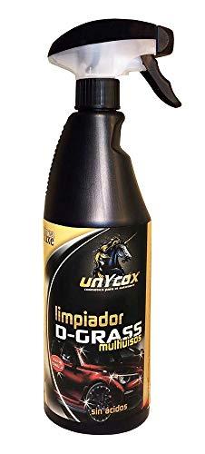 Unycox UNYCQ Limpiador Dgrass Gama Deluxe, Bote Negro, 750 ml
