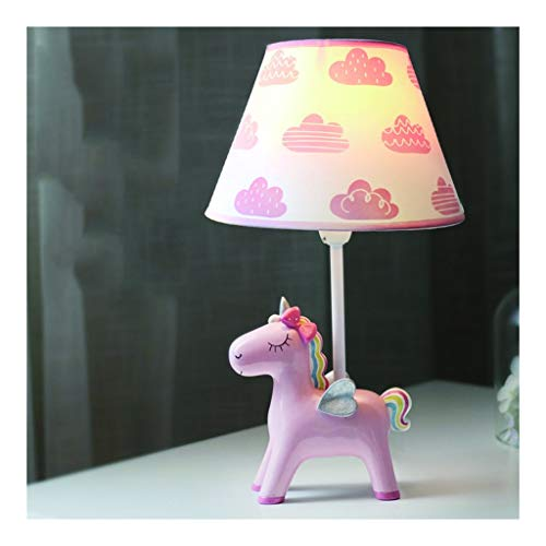 Zebra Unicorn bureaulamp, Room Cartoon Girl Heart Slaapkamer Nachtlampjes Children's Leuke Creativeeye Protection Cartoon Leeslamp