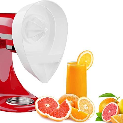 Hezhu Zitruspresse Aufsatz, Zubehör für KitchenAid, Zitrussaftpresse Aufsatz für JE-Standmixer von KitchenAid, Entsafter-Zubehörset für KitchenAid-Standmixer (4.5 / 5QT)