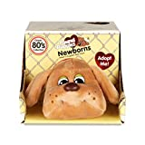 Pound Puppies 38107 Basic Fun New-Borns-Classic Stuffed Animal Plush Toy-8 inches Gift for Boys and Girls-Ages 3+, Beige/No Spots