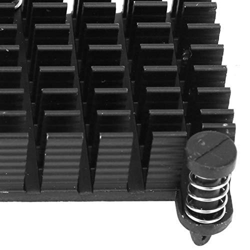 Disipador de calor 26 * 10 * 26mm Aleta de enfriamiento Raditor Aluminio para placas de potencia y amplificadores Fuentes de alimentación
