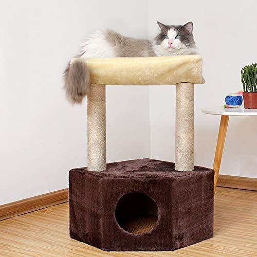 N\A Katzenturm Baum, Katze Baum Eigentumshaus, Katze Nest, Katze Kratzpfosten, Katze...