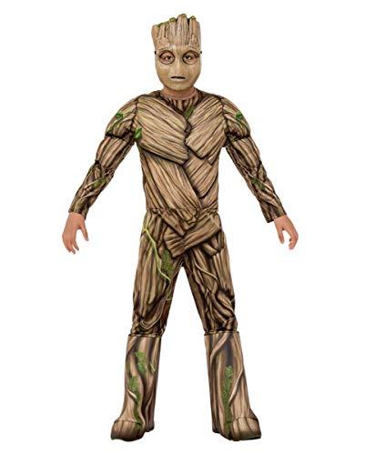 Horror-Shop Lizenz-Kostüm Guardians of The Galaxy Groot für Kinder M