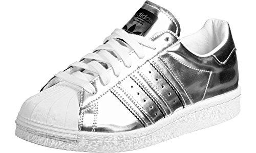 Adidas - Superstar Boost Women Silver Metallic - BB2271 - Kleur: Zilveren - Maat: 37 1/3 EU