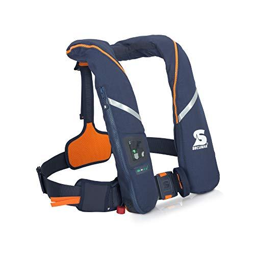 Automatische reddingsvest Secumar Survival 275 Harness donkerblauw/oranje