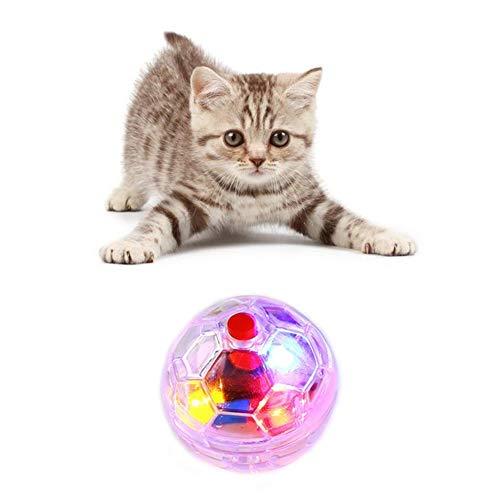 Wishwin, Giocattolo Luminoso Trasparente per Gatti