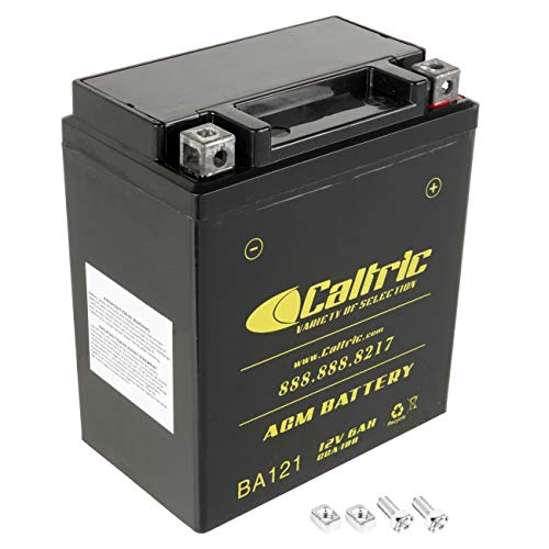 Caltric compatible with Agm Battery Honda Cmx250C Cmx250C2 Cmx250X Rebel 250 1996-2016