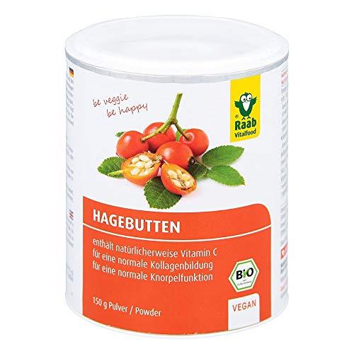 Raab Vitalfood Hagebuttenpulver Bio, 150 g Pulver