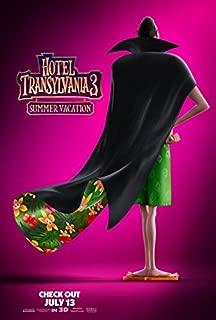 HOTEL TRANSYLVANIA 3: SUMMER VACATION (2018) Original Authentic Movie Promo Poster - D/S - 27x40 - Adam Sandler - Andy Samberg - Selena Gomez