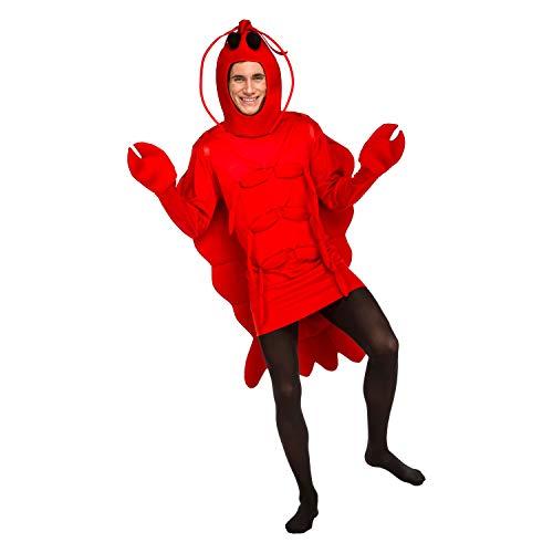 My Other Me Me-203801 Disfraz de bogavante, M-L (Viving Costumes 20380