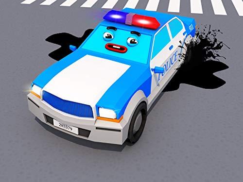 Blau Polizeiauto