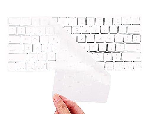 COOSKIN Keyboard Cover Skin for Apple Wireless Magic Keyboard Ultra Thin Clear Soft TPU Type Protector, 2015 New US Version (MLA22LL/A)