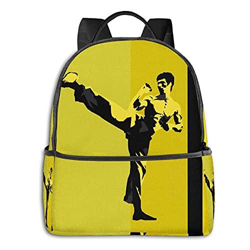 Kung Fu Bruce Lee Anime Fashion Cute Boy...