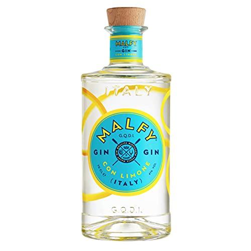 Malfy Gin con Limone – Super Premium Gin aus Italien mit italienischen Zitronen – 41 % Vol – 1 x 0,7L