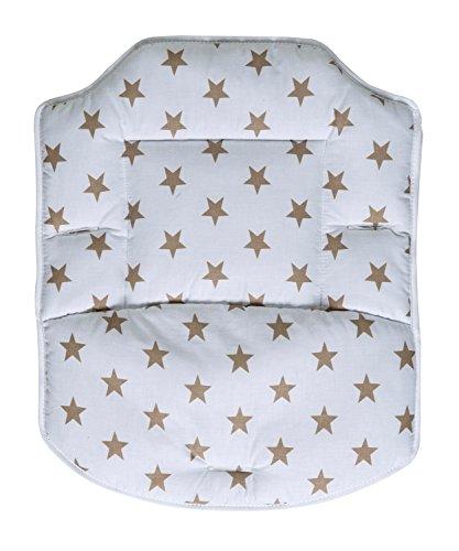 Schardt Coussin de Chaise Haute Best Big Stars Beige