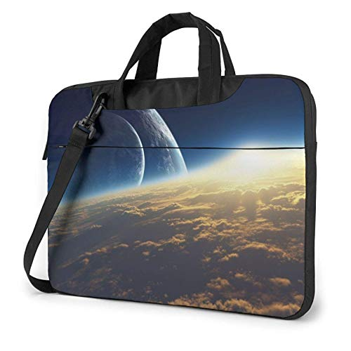 XCNGG Laptop Bag, Light Space Business Briefcase Protective Bag Cover for Ultrabook, MacBook, Asus, Samsung, Sony, Notebook 15.6 inch