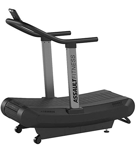 Assault Fitness AirRunner, Black Frame/Charcoal,2' x 16.4'