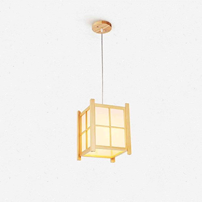 Moderne einfache Massivholz Kronleuchter Japanische Pendelleuchte Schlafzimmer Restaurant Balkon Deckenleuchte
