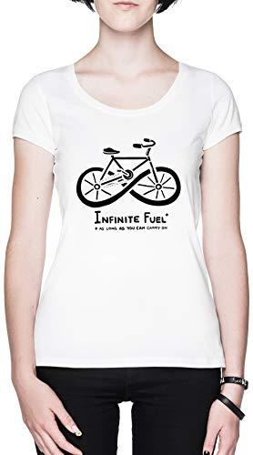 Infinite Fuel Blanca Mujer Camiseta White Men's T-Shirt tee