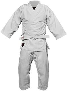 Fuji Advanced Brushed karate Uniform, White