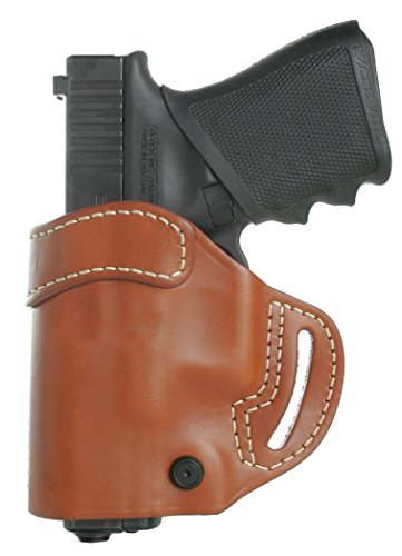 BLACKHAWK Leather Compact Askins Brown Holster, Size 28,...