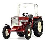 Schuco 450779300 - International 433, Traktor mit Bügel, Modellauto, 1:32, rot
