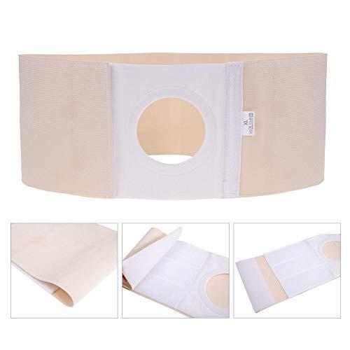 Unisex Stoma Gürtel, Atmungsaktiv Stomabandage haut Stomaversorgung, Post Colostomy Bauchstütze Stoma Bandage, Bauch- und Rückenstützgürtel, erhältlich in 3 Größen(M)