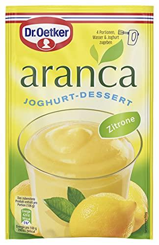 Dr. Oetker Aranca Zitrone-Geschmack, 11er Pack (11 x 1 St. Schale)