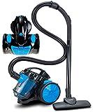 Bodenstaubsauger 700 Watt | HEPA 13 Filter | 2in1 Bodenbürste | 360° Schlauch | Vacuum Cleaner | Staubsauger | Zyklonen Staubsauger beutellos | Beutelloser Staubsauger | Zyklonenstaubsauger