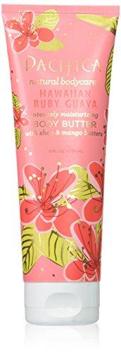 Pacifica Beauty Hawaiian Ruby Body Butter Tube, Guava, 8 Fluid Ounce