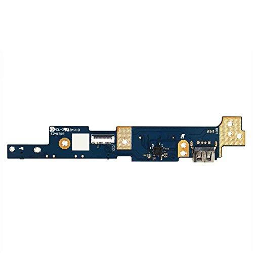 Gintai Power Switch Button io USB scheda SD per Asus Q302Q302L Q302LA Q302U Q302UA TP300TP300L TP300LA TP300LD