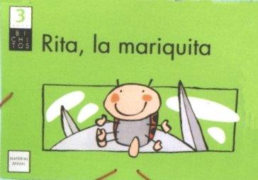 Rita, la mariquita. Carpeta anual. BICHITOS. 3 años - 9788421834091