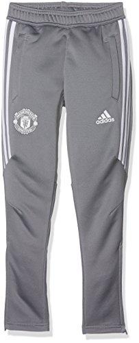 2017-2018 Man Utd Adidas Training Pants (Grey) - Kids