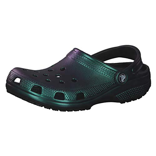 Crocs Unisex Adulto Classic Prismatic Clog, Black, 37-38