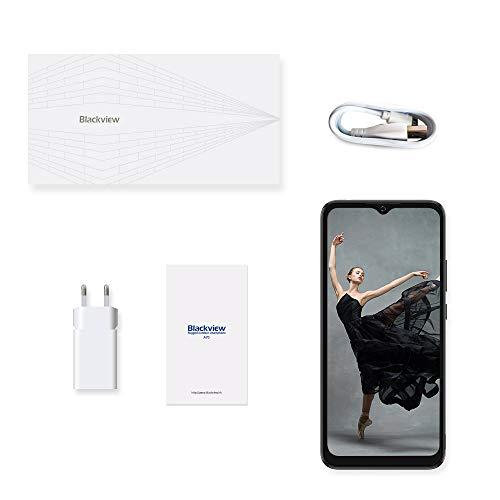 Blackview A70 (E) Smartphone ohne Vertrag Android 11, 6.517 Zoll HD mit 5V/2A, 3GB RAM+32GB Speicher Octa-core, 13MP+5MP Kamera, Fingerabdruck Sensor, 4G Handy Dual SIM Schwarz - 7