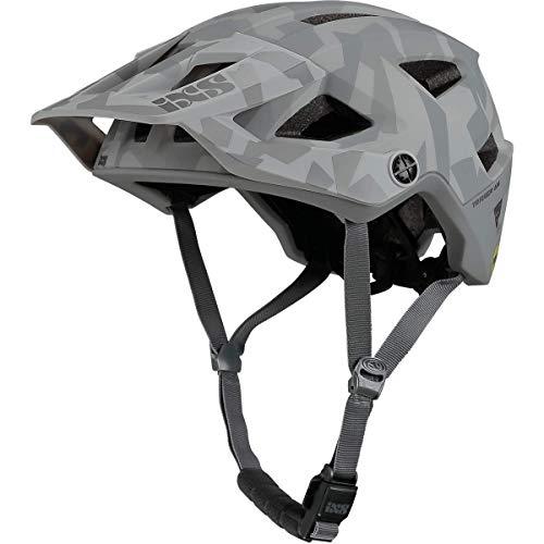 IXS Trigger Am MIPS Casco montaña, Bicicleta, Unisex Adulto, Camo Grey, Medium
