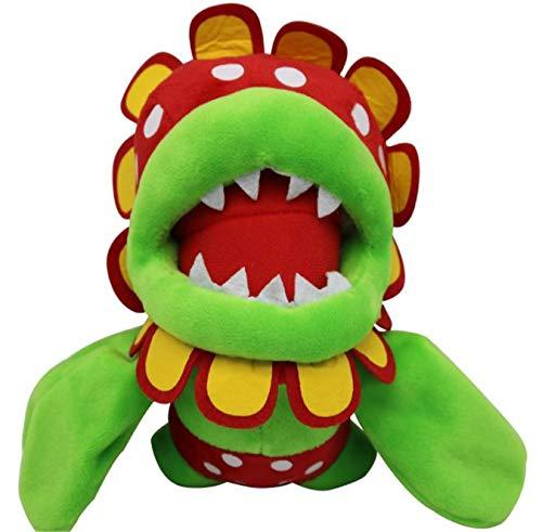 Juyo Super Mario Bros Petey Piranha Soft Plush Toy Stuffed Animal Doll,Stuffed Animal Doll Flower.Size:7.87 inch(20cm).