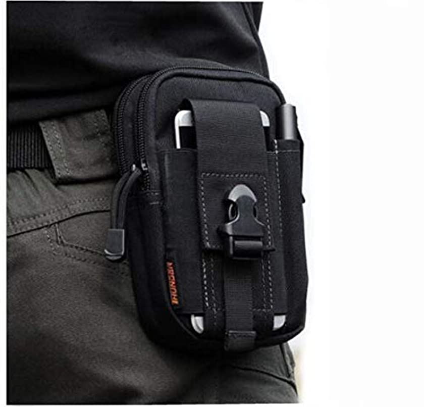 INTBUYING Tactical Waist Fanny Pack Military Style Waterproof for Outdoor Hiking Shoulder Bags