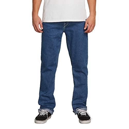 Volcom Solver Jeans 34W x 32L Indigo Ridge Wash