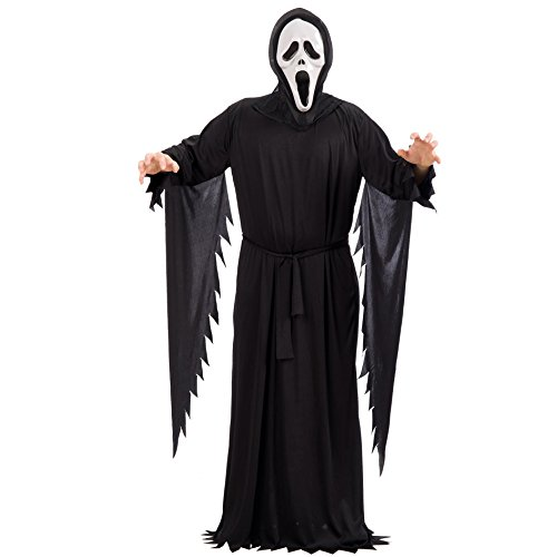 Carnival Toys 82118 - Cry túnica con máscara, tamaño M/L
