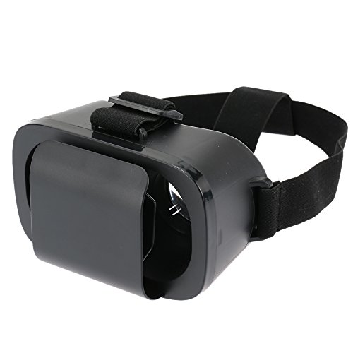 Docooler Universal Virtual Reality 3D Video Glasses Headband 2D to 3D Film Converter for 4~6in Smartphones Compatible with Smart Phone