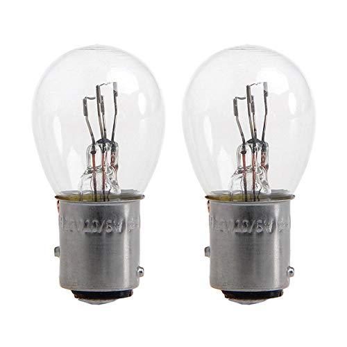 RUNGAO - 2 luces de freno para coche (21 W, DC12 V, 1157 BAY15D)
