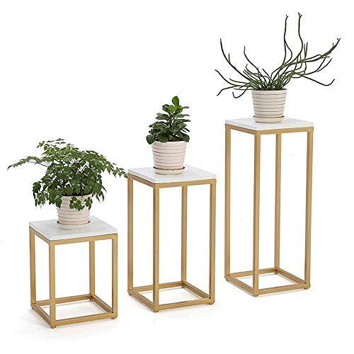 JXJ Plant Stand Flower Pots Display Rack- Nordic Iron Art Plant Stand Floor-Standing Multifunctional Flower Stand,For Floor Balcony Indoor And Outdoor Living Room Modern Home Decor (Color : 30 *