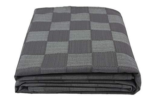 Colcha Multiusos para sofá, Manta Foulard Extra Grande, Plaid, Cubrecama Dákar (Negro, 250x320)