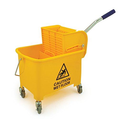 Bentley Industrial MB.20/Y Mobile Mob Bucket, 20 L Capacity, Yellow