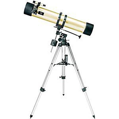 SMLJJHW Telescopios, telescopio Reflector Newton, telescopio para Principiantes, trípode de Aluminio Ajustable, Puede Ver Planetas, Luna, Sol, Nubes