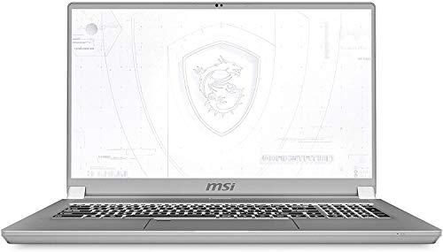CUK WS75 by MSI 17 Inch Mobile Workstation Laptop (Intel Core i7, 64GB RAM, 2TB NVMe SSD, NVIDIA Quadro RTX 3000 6GB, 17.3' FHD IPS 144Hz, Windows 10 Pro) Thin Bezel Notebook Computer