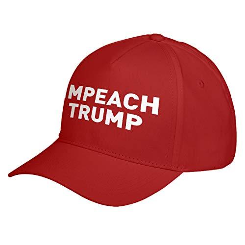 Hat IMPEACH TRUMP Red Adjustable Unisex Baseball Cap
