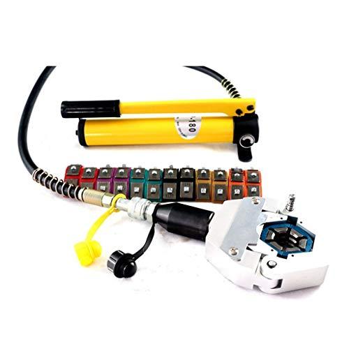 MXBAOHENG Hydraulikschlauch Crimpzange SD-7842B Handheld Hydraulikschlauch Crimpwerkzeug AC Repair Tools Schlauch Bördelmaschine Crimpmaschine
